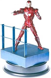 Dragon Models Iron Man 3 - Mk.XXXIII (33) - Silver Centurion Model Kit (1/9 Scale)