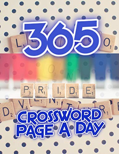 365 Crossword Page A Day: Crossword Puzzle Books For Beginner, Easy Crissword Puzzles, Puzzles to Sharpen Your Mind Themed Word Search Series, Brain ... and to Help You Master Puzzles to Enjoy!
