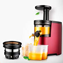 Household Fruit and Vegetable Slag Juice Separation Juicer, Automatic Fresh Fruit Small Low Speed Juice Machine Capacity 0...
