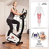 SportPlus Ergometer, ca. 9 kg Schwungmasse, Benutzergewicht bis 120 kg, geprüft nach EN ISO 20957-1, 957-5, mit optionaler Smartphone-Steuerung über Cardiofit App, SP-HT-9800-iE - 3
