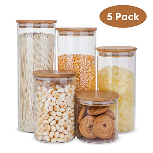 glass kitchen jars - 5