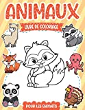 Livre De Coloriage Animaux: pour les enfants, 70 animaux géniaux | À partir de 3 ans (pour les garçons et filles ) | (Livres à colorier pour les enfants) | Grand format '21.59 x 27.94 cm''