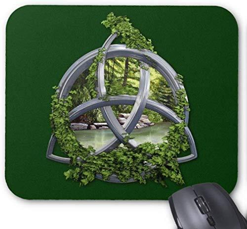 BGLKCS Chrome Celtic Trinity Knot Mouse Pad (Chrome Celtic)