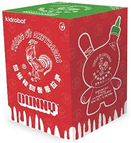 Kidrobot Sketracha 3-inch Dunny Figure SketOne Blind Box by Kidrobot