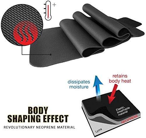 BRACOO Fitnessgürtel – Damen & Herren – Hot Belt – Schwitzgürtel – Waist Trimmer | Schnell & Einfach Abnehmen mit dem Bauchweggürtel - 4