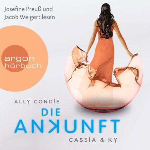 Die Ankunft     Cassia & Ky 3              By:                                                                                                                                 Ally Condie                               Narrated by:                                                                                                                                 Josefine Preuß,                                                                                        Jacob Weigert,                                                                                        Roman Knižka                      Length: 13 hrs and 25 mins     1 rating     Overall 5.0