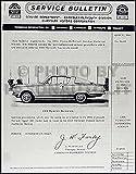 1964 Plymouth Barracuda Repair Shop Manual Supplement Reprint
