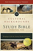 NIV Cultural Backgrounds Study Bible: New International Version, Personal Size: Red Letter Edition: Bringing to Life the Ancient World of Scripture
