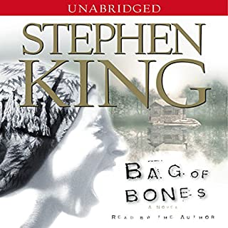 Bag of Bones audiobook cover art