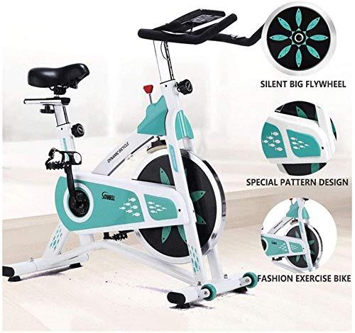 Stoge Ultra-stille Indoor Spinning Bike 200KG Gewichtdragende hometrainer Home Indoor Fitnessapparatuur gebruikt voor thuisoefening en aërobe oefening dsfhsfd(Upgrade)
