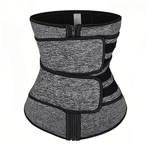 Corsé de cintura, entrenador para mujeres, sudoroso, moldeador de cintura, cinturón de entrenamiento adelgazante para mujeres, pérdida de peso, moldeador de cintura, adelgazante(XXL)