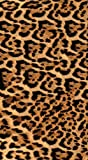 TEXTIL TARRAGO Toalla de Playa Piel de Leopardo 90x170 cm 100% algodón estampación Digital fotografica