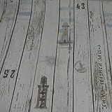 Dekostoff Emilia von Swafing, Holzbretter, beige (Meterware