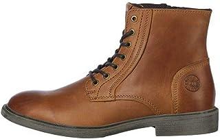 JACK & JONES Jfwkarl Leather Boot Cognac Ltn, Bottine Homme