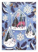 ロジャーラボード 【クリスマス】 グリーティングカード (オーナメントの中の動物たち) GCX935