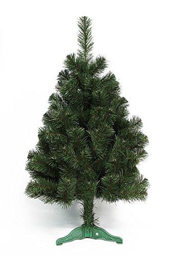 DecoKing 52587 80 cm Künstlicher Weihnachtsbaum Tannenbaum Christbaum grün Tanne Lena Weihnachtsdeko