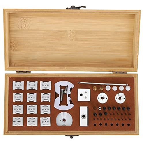 Muere el abridor de la parte posterior del reloj, removedor de la cubierta de la caja trasera del reloj profesional portátil completo con una exquisita caja de almacenamiento para