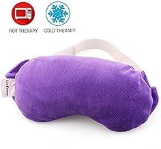 Lavender Eye Pillow, LotFancy Aromatherapy Eye Sleep Mask, Blindfold, for Yoga, Meditation, Migraine, Sleeping Aid