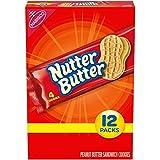Nutter Butter Peanut Butter Sandwich Cookies, 12 Packs