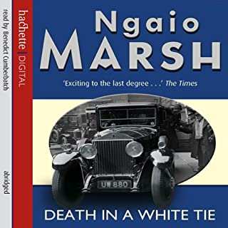 Death in a White Tie audiobook cover art