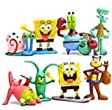 Spongebob 8 pcs Cup cake Toppers by Beautiful...