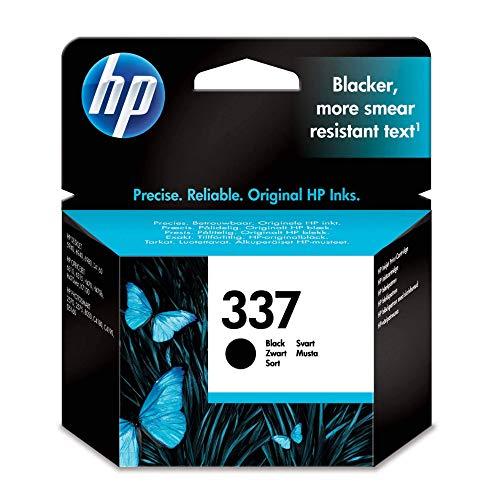 HP 337 Schwarz Original Druckerpatrone für HP Deskjet, HP Officejet, HP Photosmart