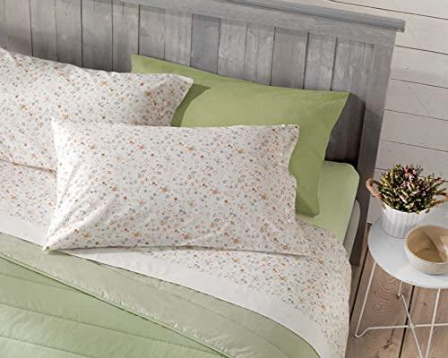 Juego de sábanas para cama de matrimonio Airles Cotto