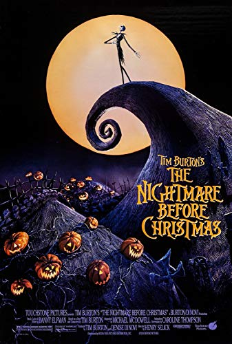 The Nightmare Before Christmas (1993) Classic Poster and Prints Unframed Wall Art Gifts Decor 11x17