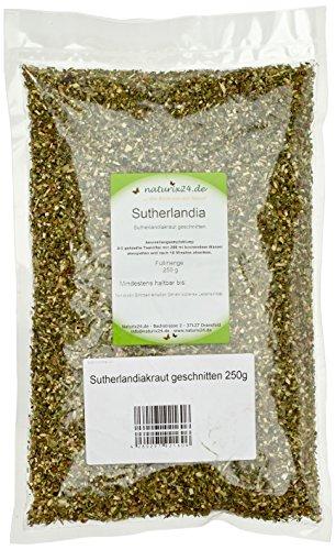 Naturix24 Sutherlandiakraut geschnitten – Beutel, 1er Pack (1 x 250 g)