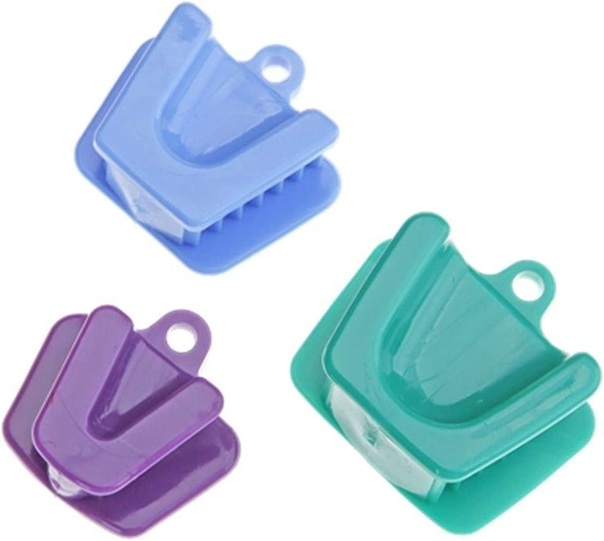 ZHANGM 3pcs Dental Mouth Prop New mail order Supply Cushion Colorado Springs Mall O Bite Block