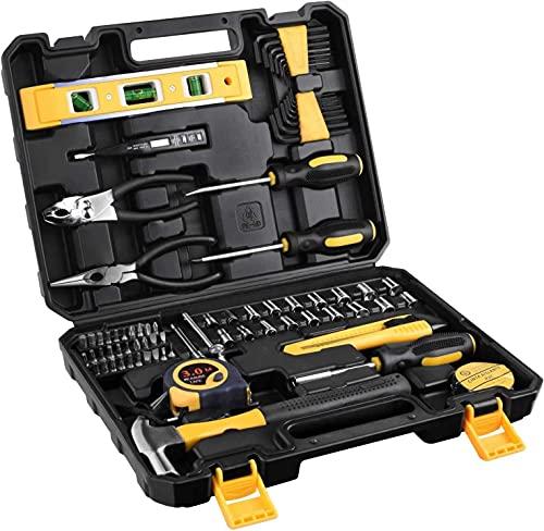 Juego de llaves de vaso de 78 piezas métricas, juego de puntas de destornillador Torx externo, barra de extensión de llave de trinquete de liberación rápida, juego de llaves de vaso para mantenimiento