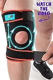 FitFitaly Ginocchiera Ortopedica - Tutore Ginocchio per Legamenti Crociati, Rotula, Menisco x Riabilitazione e Sport