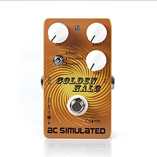 CALINE Golden Halo AC SIMULATED CP-35 Guitar Effects Pedal for Electric/Acoustic/Bass Guitarra Effect Guitar Accessories