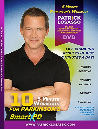 5-Minute Workout for Parkinson's DVD (10 Easy to Perform Workouts)