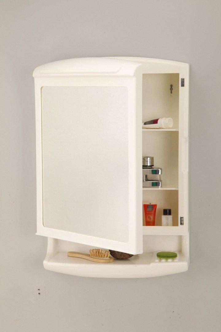 Grazia Wall Mount Bathroom Corner Cabinet Pride New Look Mirror Cabinet For Bathroom Made Abs Pride Ivory Amazon In Furniture
