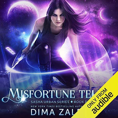 Misfortune Teller audiobook cover art