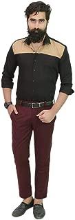 Gurus Fashion Mustard Pure Cotton Slim Fit Formal | Casual Shirts for Men | Shirts for Men | Men's Shirts