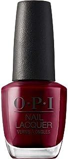 OPI Nail Lacquer - Esmalte Uñas Duración de Hasta 7 Días Efecto Manicura Profesional Malaga Wine Granate - 15 ml