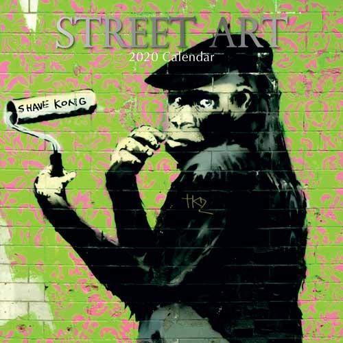 Street Art Kalender 2020 - 16-Monatskalender: Original The Gifted Stationery Co. Ltd [Mehrsprachig] [Kalender] (Wall-Kalender)