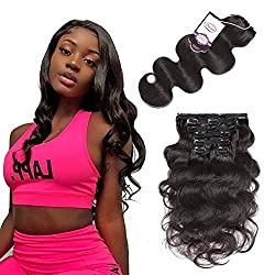 Urbeauty Wavy Clip in Hair Extensions