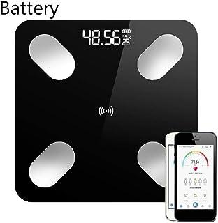 Báscula De Baño Baño Digital Inteligente Peso Escala De Grasa Índice De Masa Corporal Soporte Mobile Bluetooth App 26X26Cm1