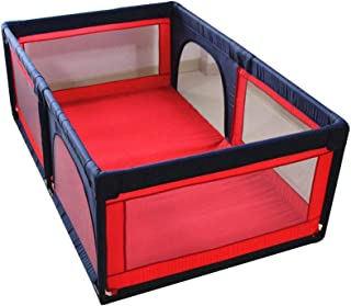 LHR888 Baby Playpen-Children Safety Fence Children s Play Fence Baby Play Fence Baby Crawling Mat Child Safety Fence Boy And Girl Safety Activities Home Play House Size 1 2 1 9m