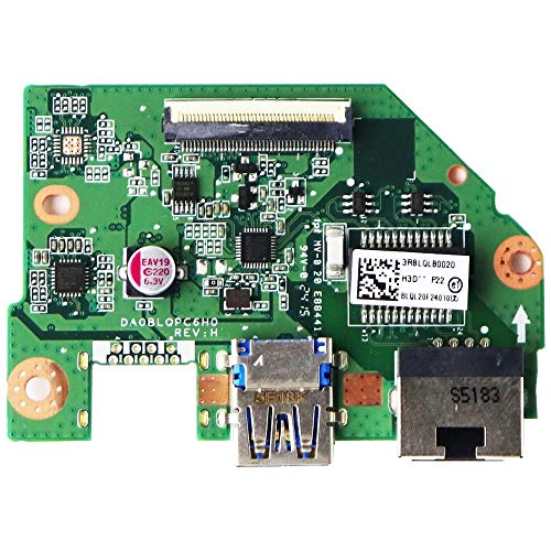 Ethernet Port and USB 3.0 Board for Toshiba Satellite S55-C5274D Laptop