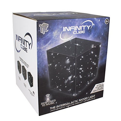 Infinity Cube LED Space Universe Light Lamp
