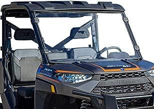 SuperATV Heavy Duty Non-Scratch Resistant Full Windshield for 2013+ Polaris Ranger XP 900 and 2014+ Ranger XP 900 Crew | 1/4