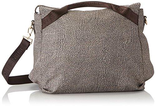 Borbonese Handbag, Borsa a Mano Donna, Marrone (Op Classico/Marrone), 32x28x20 cm (W x H x L)