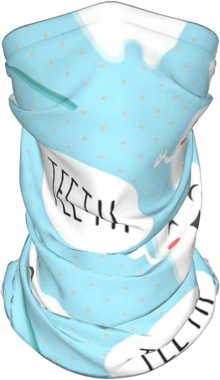 Dala Horses Neck Gaiter Multipurpose Headwear Ice Silk Mask Scarf Summer Cool Breathable Outdoor Sport 4 Pcs