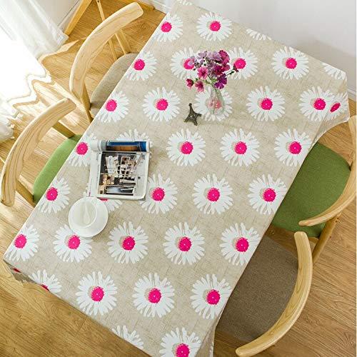 XXDD Mantel Estampado Floral, Utilizado para Mesa Rectangular, Impermeable, Fiesta, Boda, Cubierta de Mesa, decoración, Chimenea, encimera A3 140x180cm