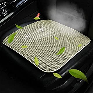 Universal Car Summer USB Cooling Pad Seat Cushion High Quality (Color : Beige)
