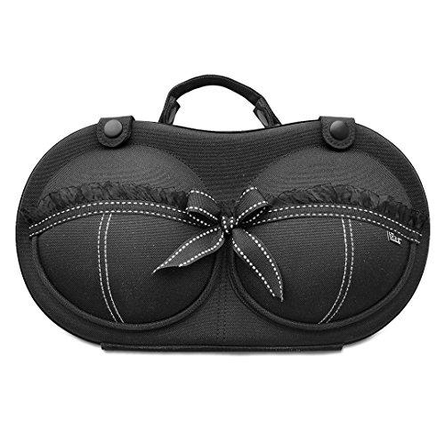 The Brag Company Tragbare BH Aufbewahrungsbox, BH Box & BH Tasche für Körbchengröße 65A - 80C – die originale & patentierte BH Aufbewahrung – Sophia